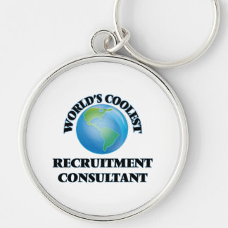 World's coolest Recruitment Consultant Keychain