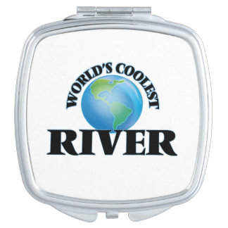 World's Coolest River Compact Mirror