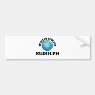 World's Coolest Rudolph Bumper Sticker