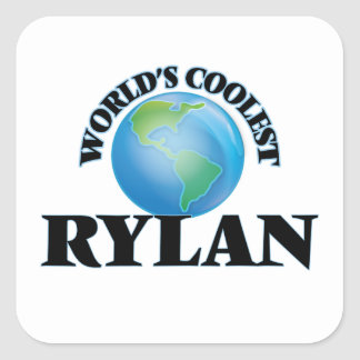 World's Coolest Rylan Square Stickers
