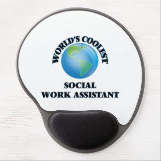 World's coolest Social Work Assistant Gel Mousepad