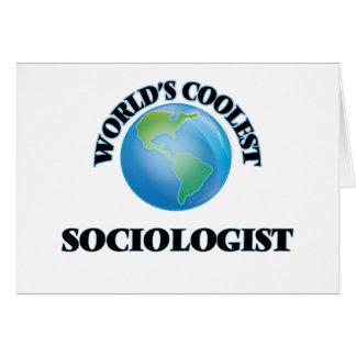 World's coolest Sociologist Card