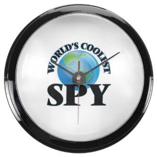 World's coolest Spy Aqua Clock