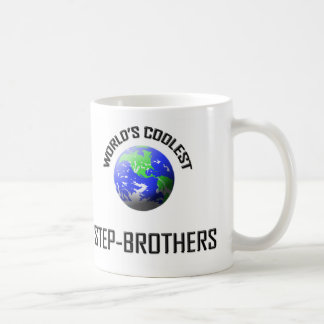 World's Coolest Step-Brothers Coffee Mugs