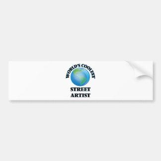 World's coolest Street Artist Bumper Sticker