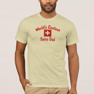 World's Coolest Swiss Dad T-Shirt