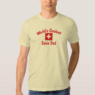 World's Coolest Swiss Dad Tshirts