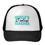 World's Coolest Teacher T-shirts and Gifts Mesh Hat