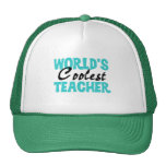 World's Coolest Teacher T-shirts and Gifts Trucker Hat