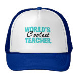 World's Coolest Teacher T-shirts and Gifts Hats