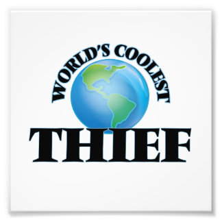 World's coolest Thief Photographic Print