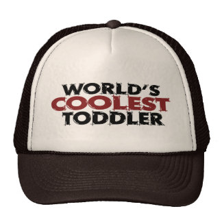 Worlds Coolest Toddler Mesh Hat
