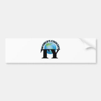 World's Coolest Ty Bumper Sticker