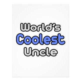 World's Coolest Uncle 21.5 Cm X 28 Cm Flyer