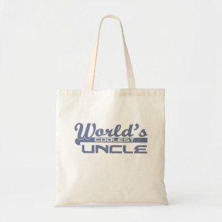 World's Coolest Uncle Budget Tote Bag