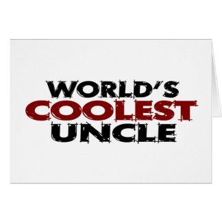 Worlds Coolest Uncle Cards