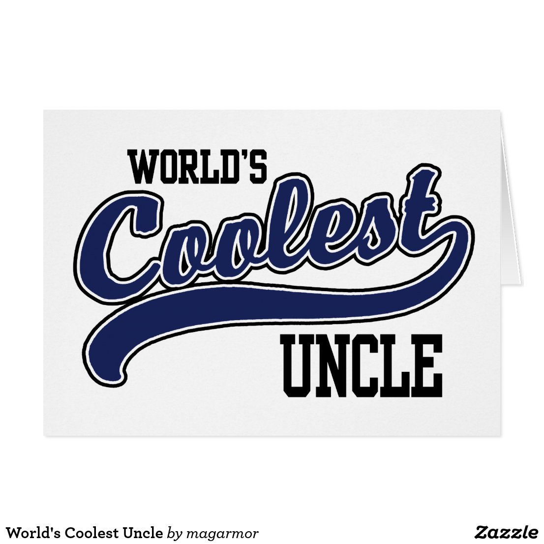 World's Coolest Uncle Card