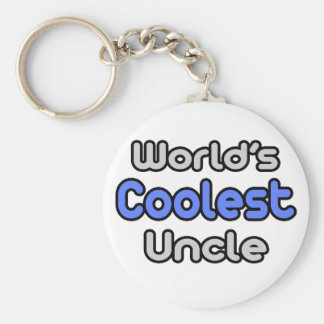 World's Coolest Uncle Key Ring