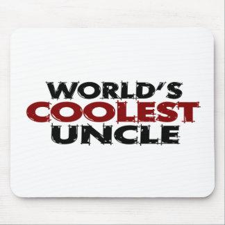 Worlds Coolest Uncle Mouse Mat