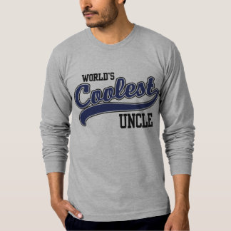 World's Coolest Uncle Tee Shirts