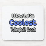 World's Coolest Volleyball Coach Mousemat