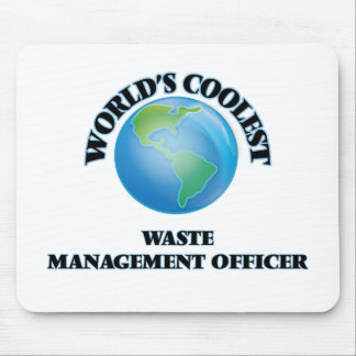 World's coolest Waste Management Officer Mouse Pads