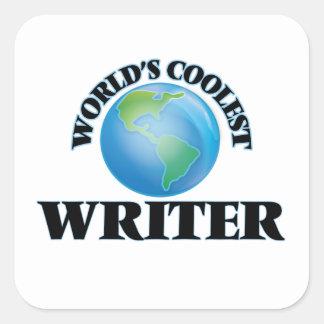 World's coolest Writer Stickers