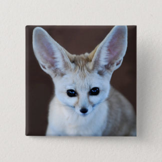 Worlds Cutest Fennec Fox 15 Cm Square Badge