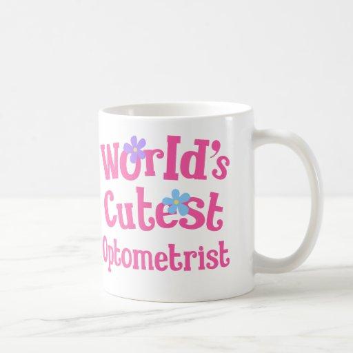 Worlds Cutest Optometrist Mugs