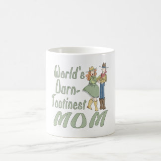 World's Darn Tootinest Mom fun coffee mug