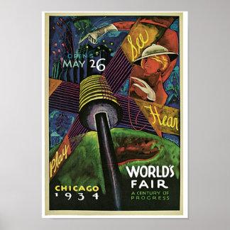 World's Fair ~ A Century of Progress Poster