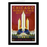 """World's Fair, Chicago, 1933"" Vintage Greeting Card"