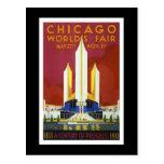 """World's Fair, Chicago, 1933"" Vintage Postcard"