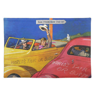 World's Fair or Bust Placemat