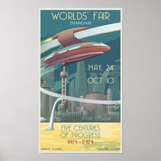 Worlds' Fair Shanghai Posters