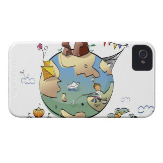 World's famous places around the globe iPhone 4 Case-Mate case