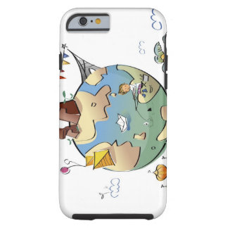 World's famous places around the globe tough iPhone 6 case