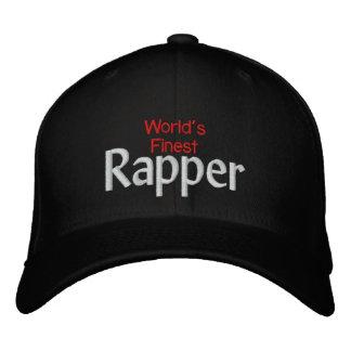 Worlds finest Rapper Embroidered Hat