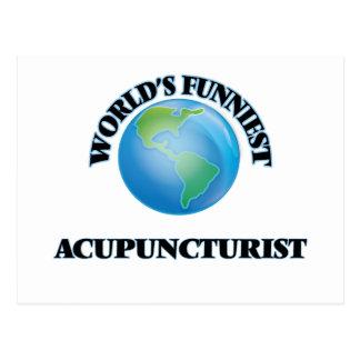World's Funniest Acupuncturist Post Card