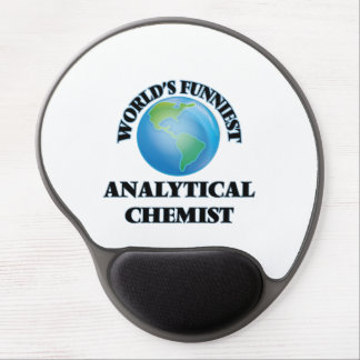 World's Funniest Analytical Chemist Gel Mouse Pads