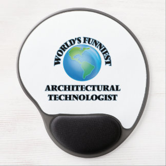World's Funniest Architectural Technologist Gel Mouse Mats
