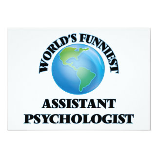 World's Funniest Assistant Psychologist Cards