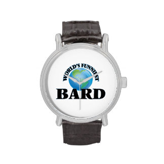 World's Funniest Bard Wrist Watch
