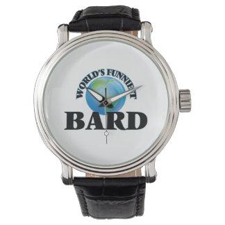 World's Funniest Bard Wristwatch