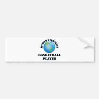 World's Funniest Basketball Player Bumper Sticker