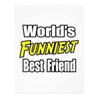 World's Funniest Best Friend 21.5 Cm X 28 Cm Flyer