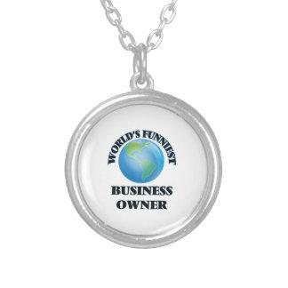 World's Funniest Business Owner Custom Jewelry