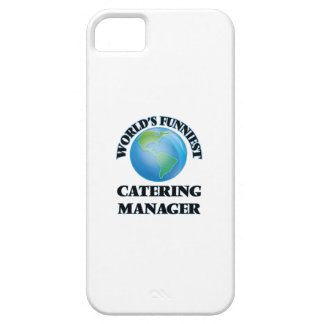 World's Funniest Catering Manager iPhone 5 Cases