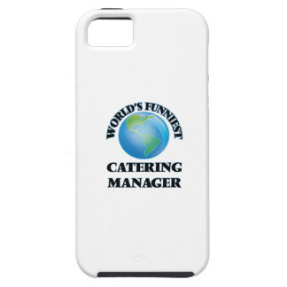 World's Funniest Catering Manager iPhone 5 Covers
