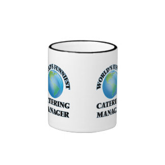 World's Funniest Catering Manager Mug